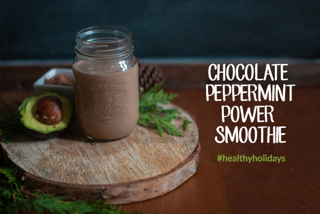 Chocolate Peppermint  Power Smoothie