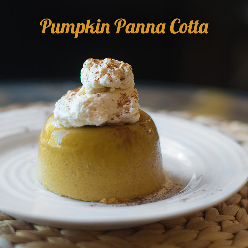 Pumpkin Panna Cotta Recipe