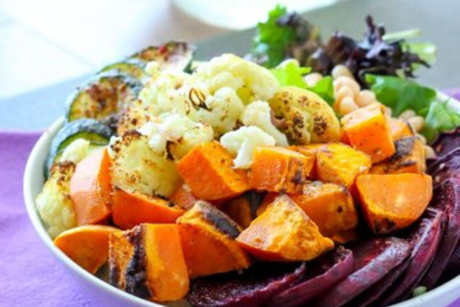 "Vegan & Gluten-Free ""Down to Earth"" Rustic Vegetable Bowl"