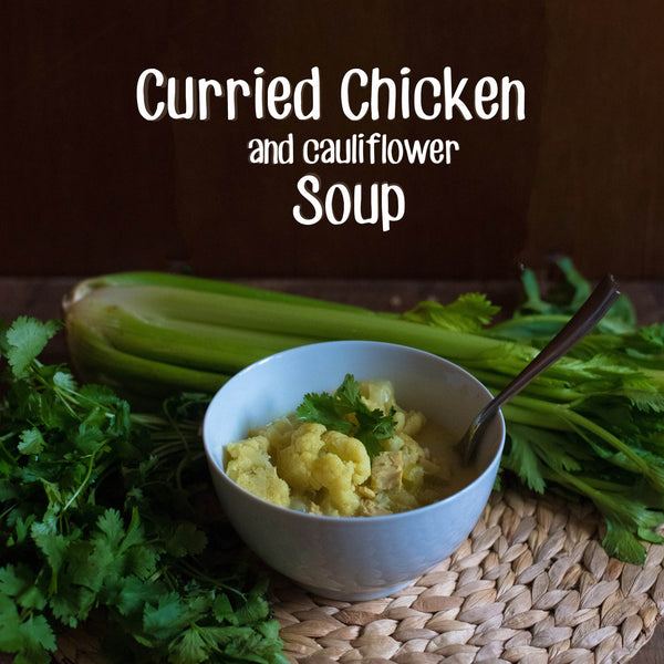 Curried Chicken & Cauliflower Soup