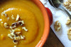 Thick & Creamy Squash, Yam and Ginger Soup