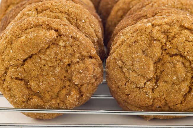 Swedish Ginger Cookies with Molasses & Cinnamon