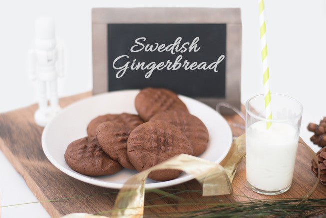 Sweet & Spiced Swedish Gingerbread Cookies