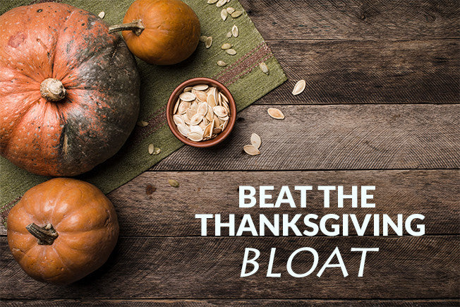 6 Tips on Beating the Thanksgiving Bloat