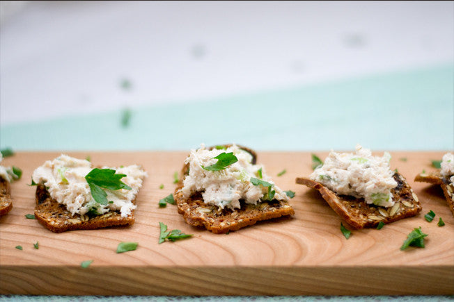 Lemon & Dill Tangy Tuna Goat Cheese Spread