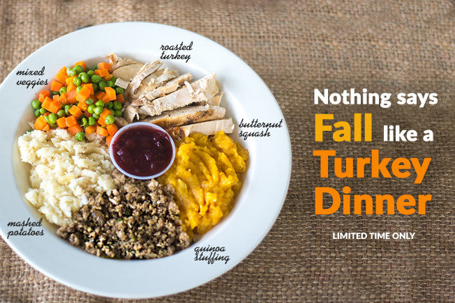 Thanksgiving Turkey Dinner from Our Eatery!