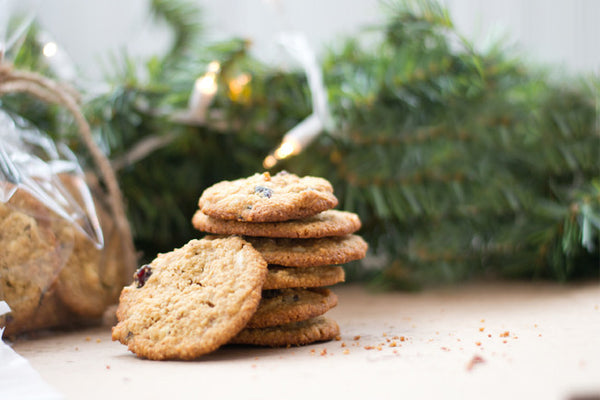 Gluten-Free White Chocolate Cranberry Cookies