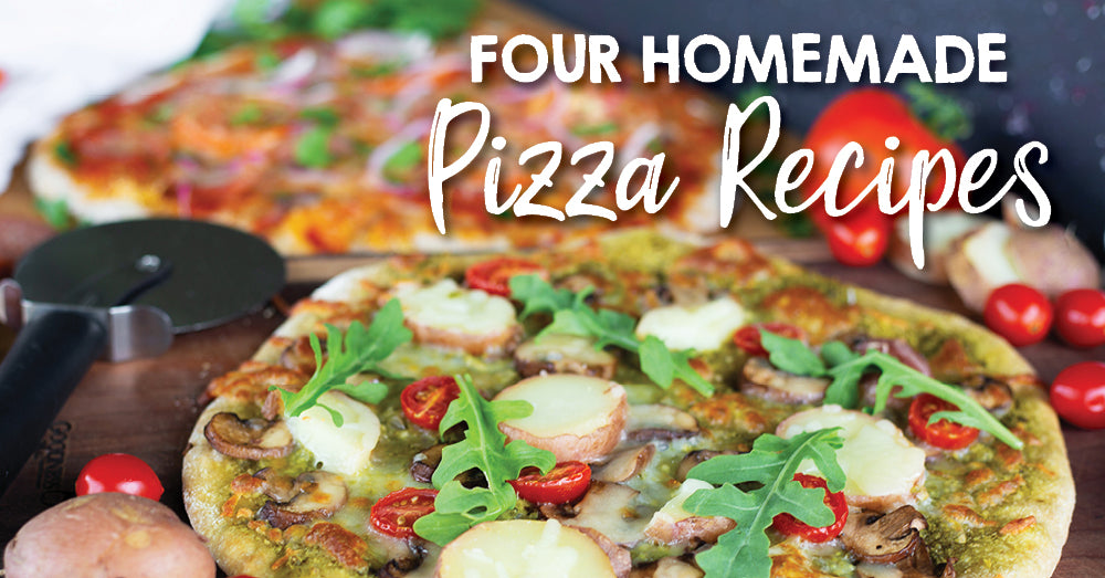 Four Homemade Pizza Recipes