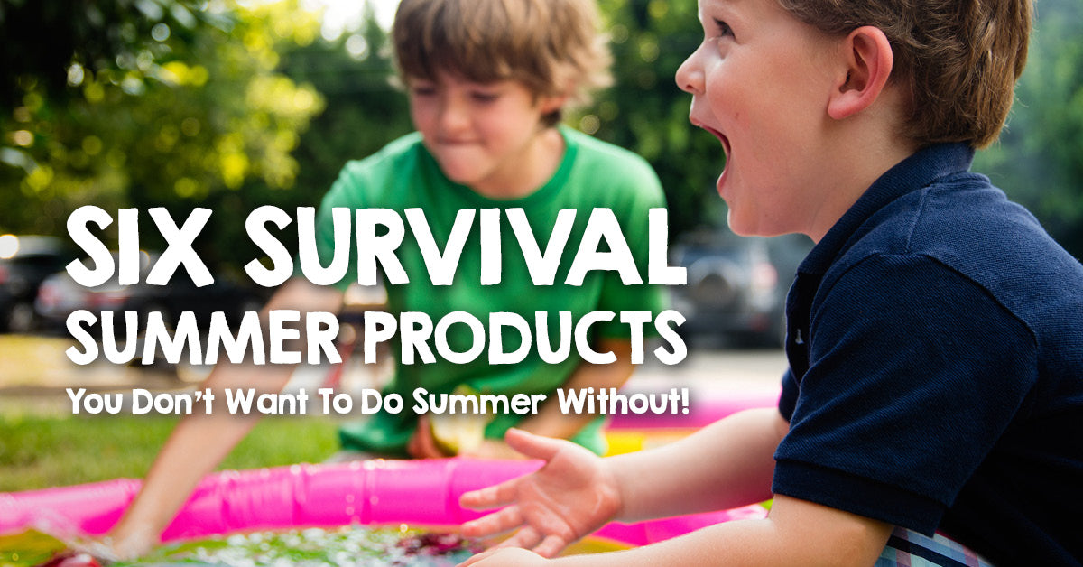 Six Survival Products You Don't Want to do Summer Without!