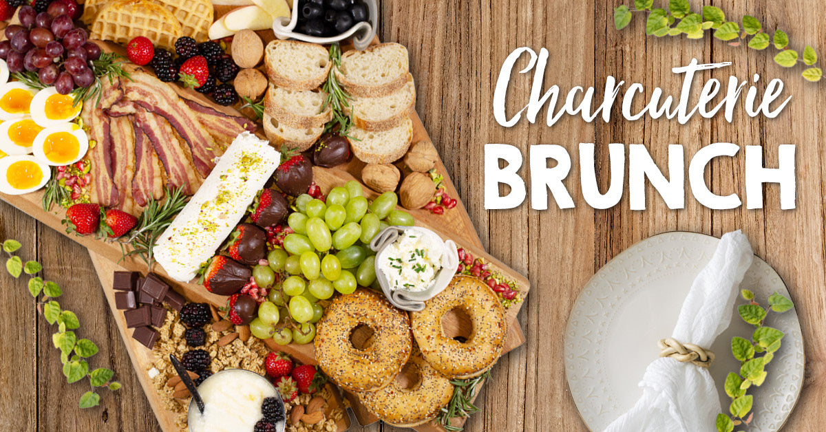 Ultimate Charcuterie Brunch Board
