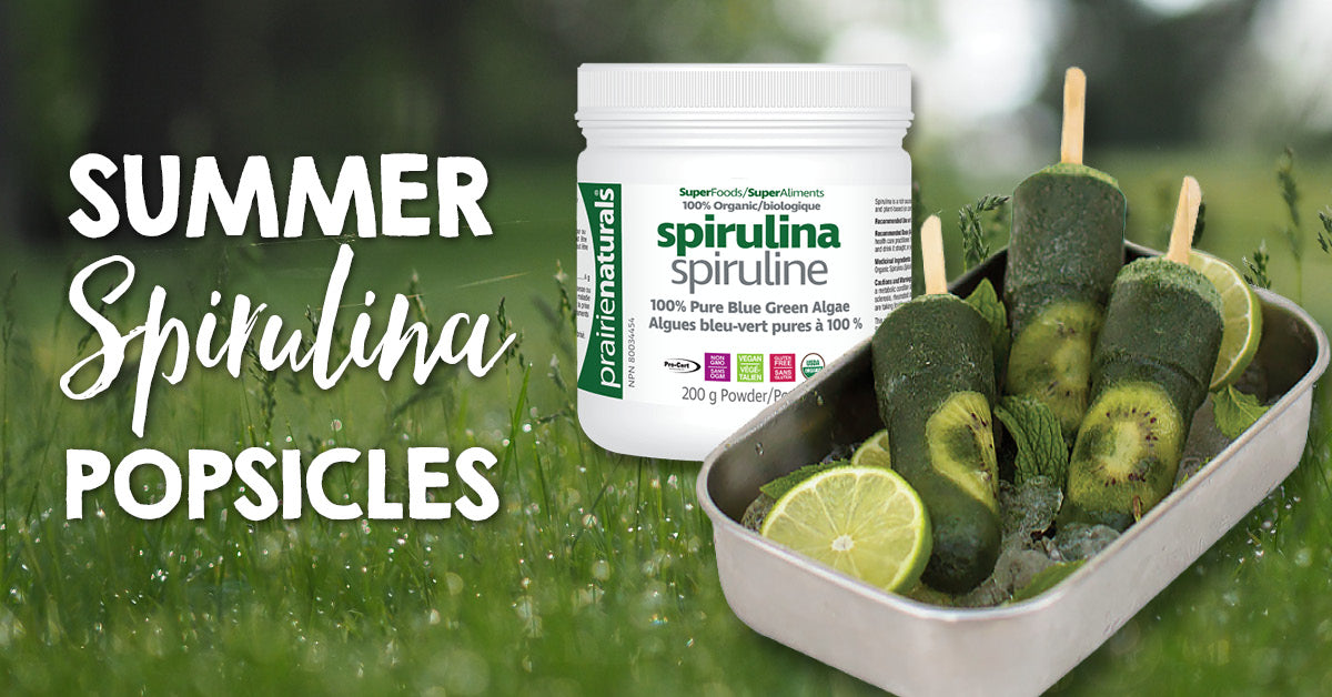 Summer Spirulina Popsicle's