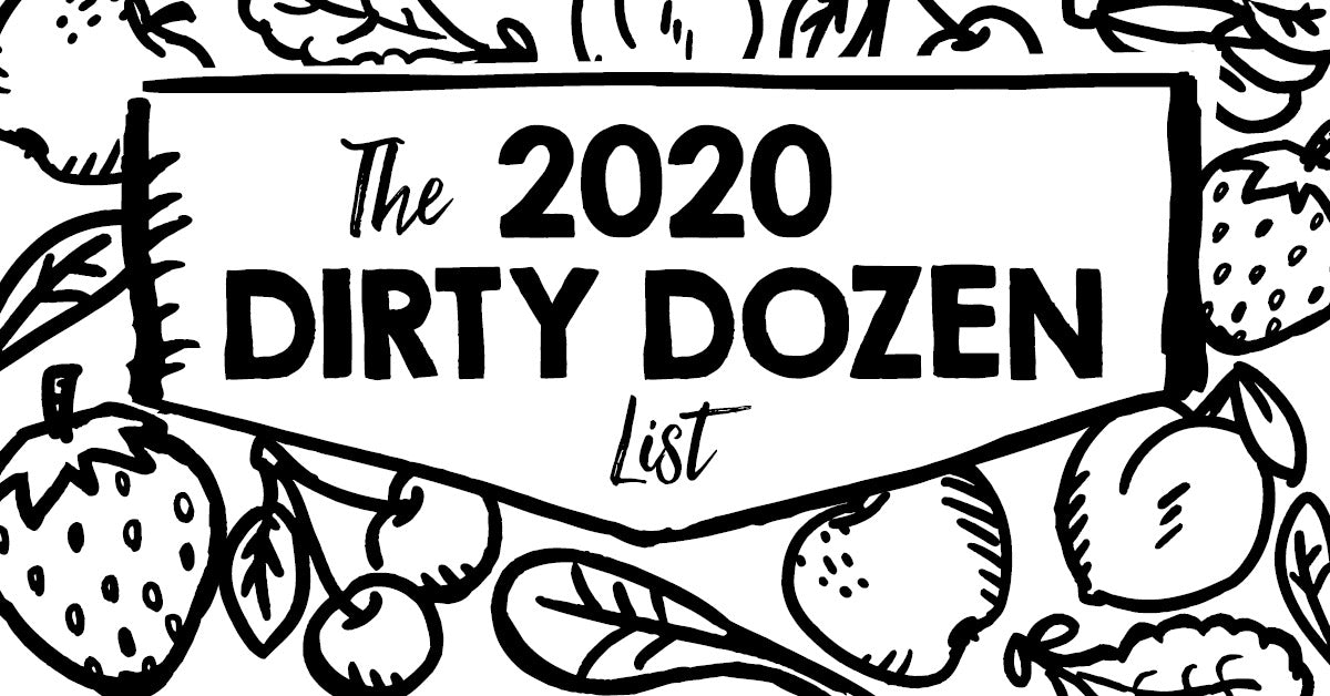 Dirty Dozen list 2020 - Why Choose Organic Produce?