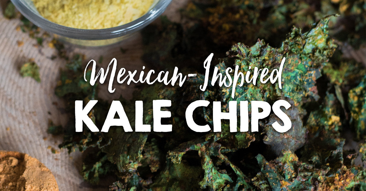 Mexican-Inspired Kale Chips