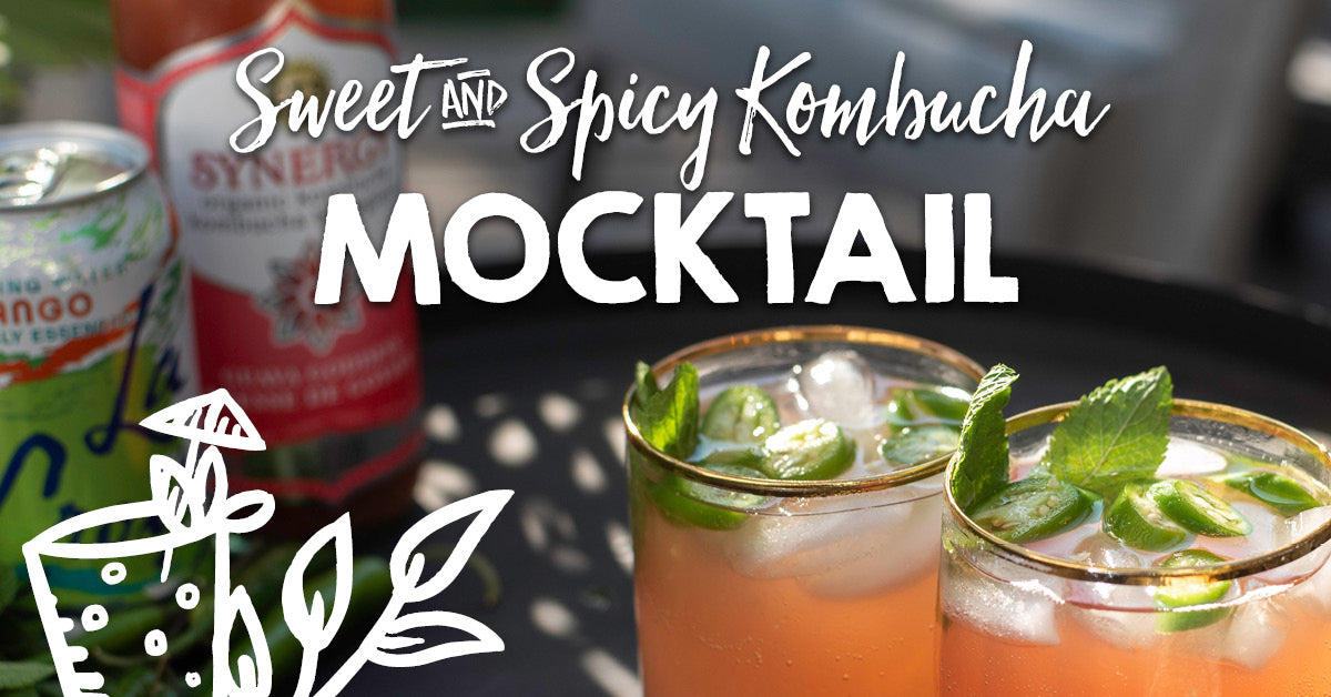Sweet & Spicy Kombucha Mocktail