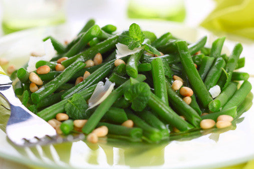 Farmer's Favourite Garlicky Green Beans with Slivered Almonds
