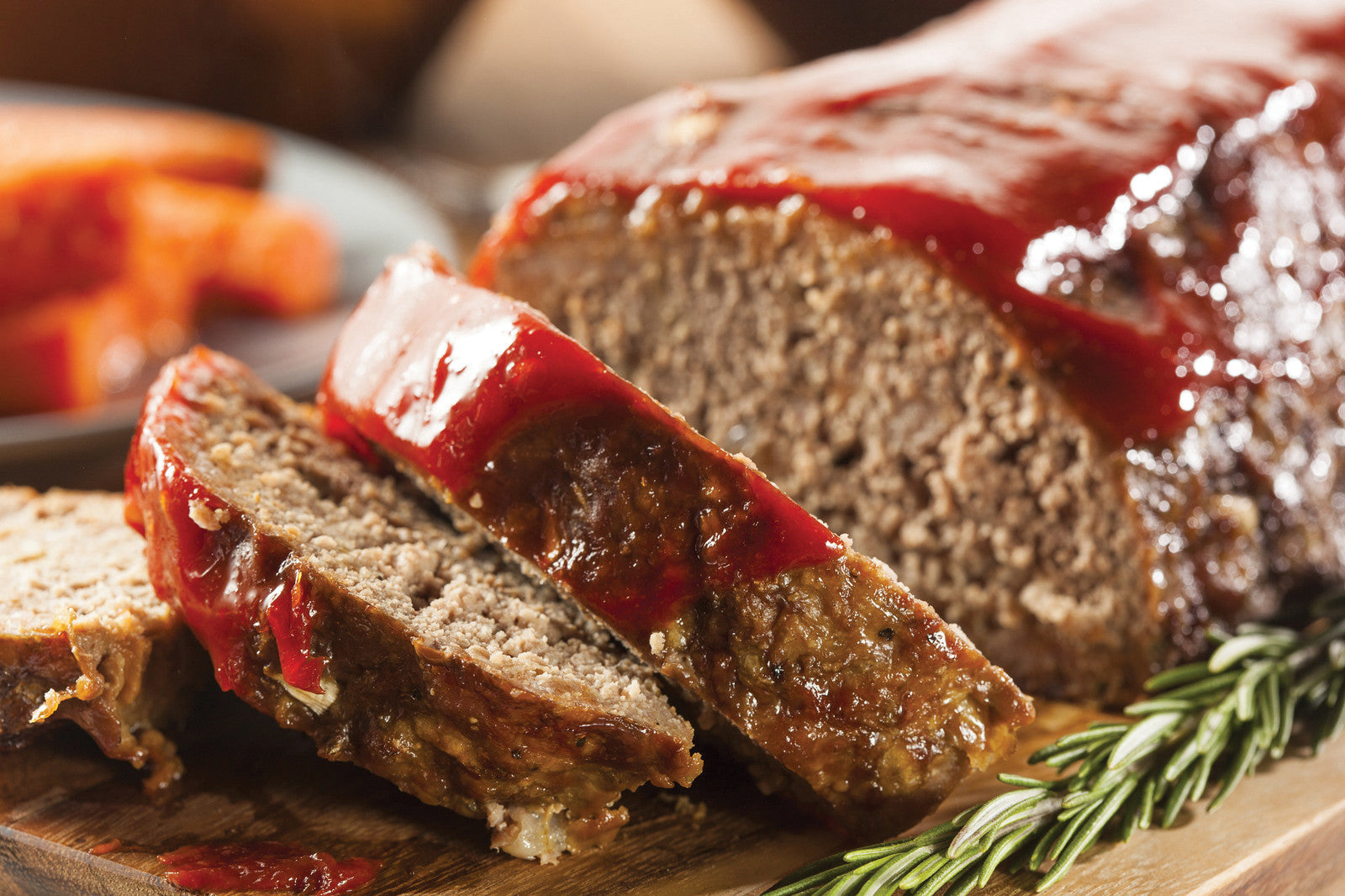 Gluten-Free Garlic Parmesan Meatloaf with Mustard Tomato Sauce