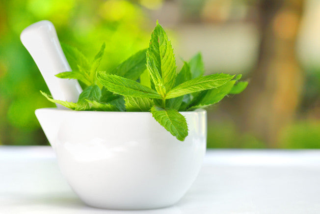 Refreshing Mint Leaf Face Mask