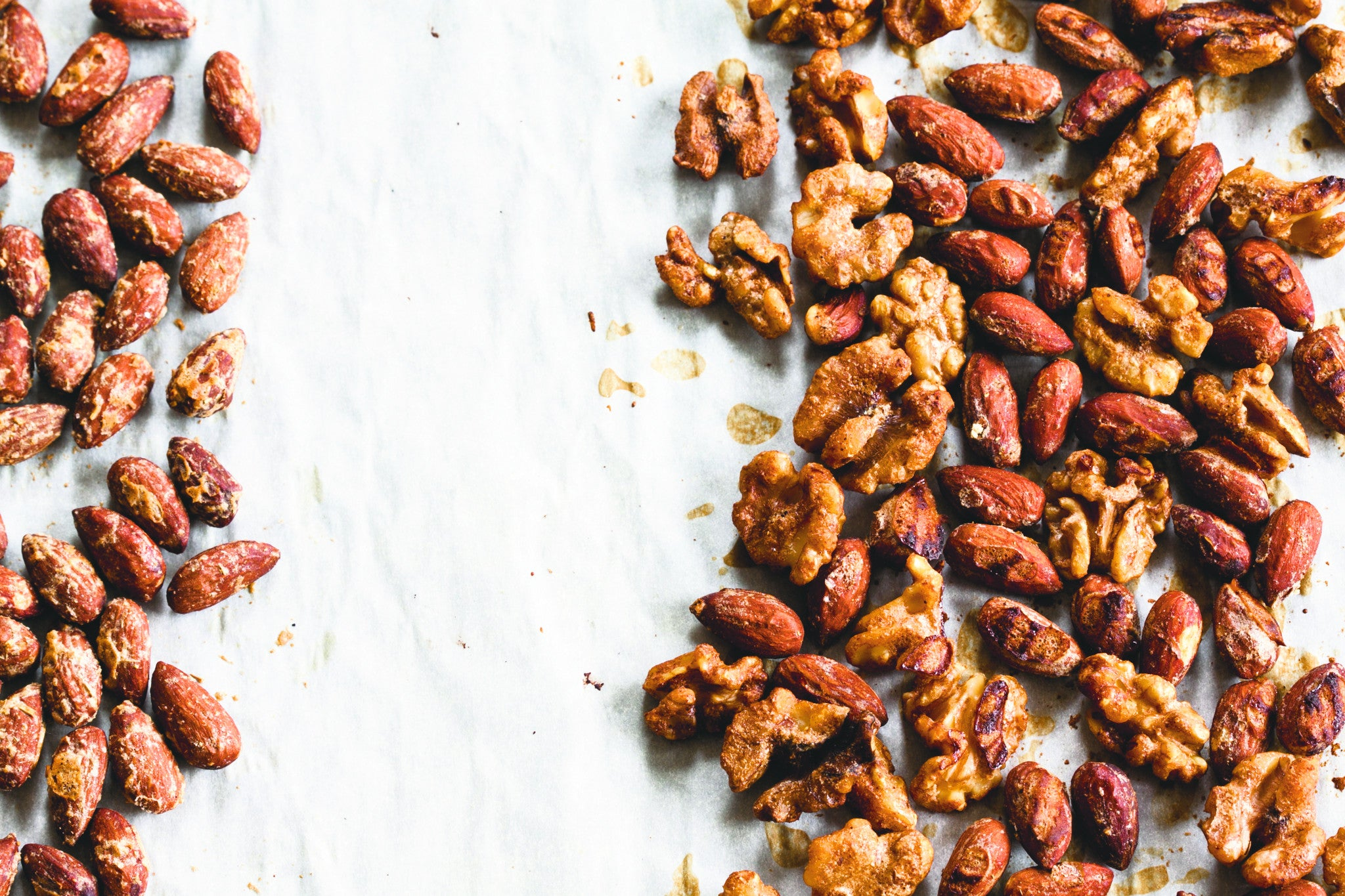 Festive Savoury Spiced Nuts with Cumin & Cayenne