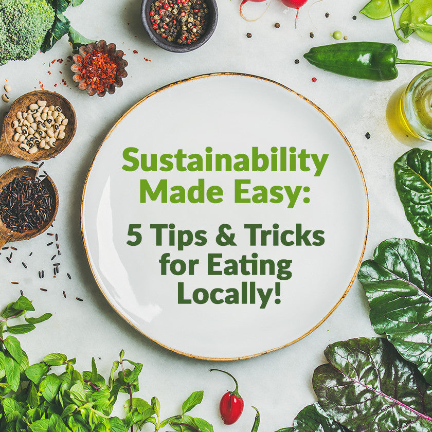 Sustainability is Easy: Five Tips & Tricks for Eating Locally!