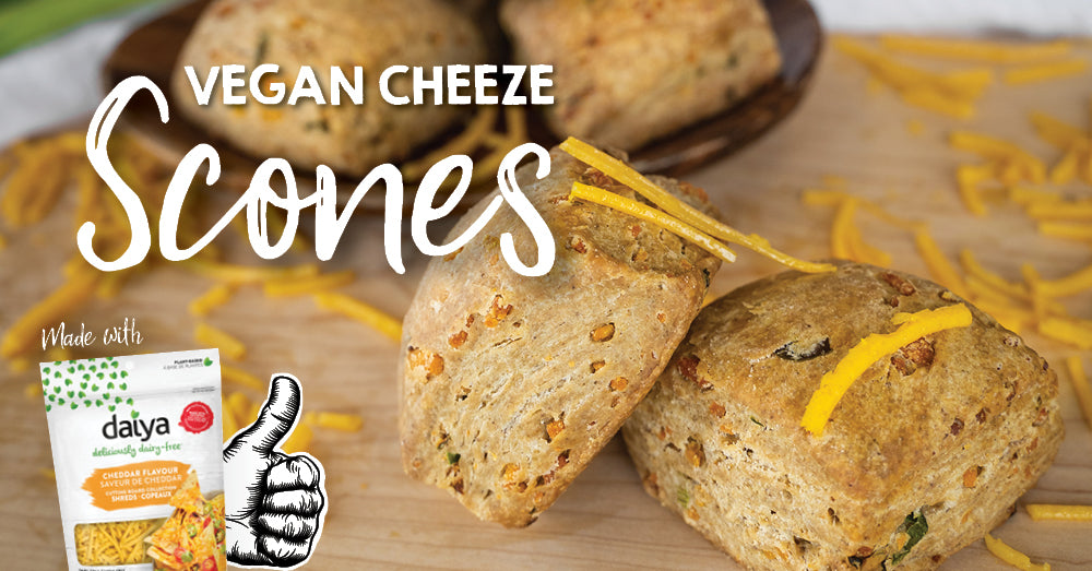 Vegan Cheeze Scones
