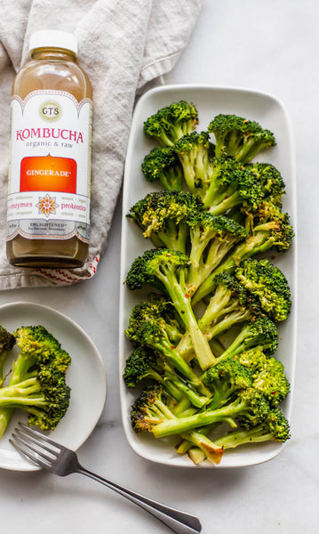 Spicy Ginger Broccoli