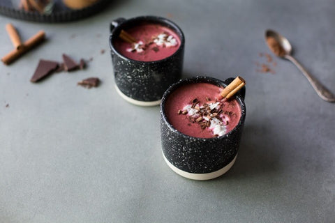 vegan Red Velvet Hot Chocolate recipe The Green Life