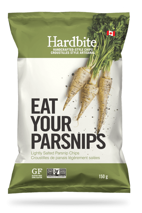Hardbite - Parsnip Chips, Lightly Salted, 150g