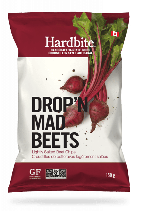 Hardbite - Beet Chips, Lightly Salted, 150g