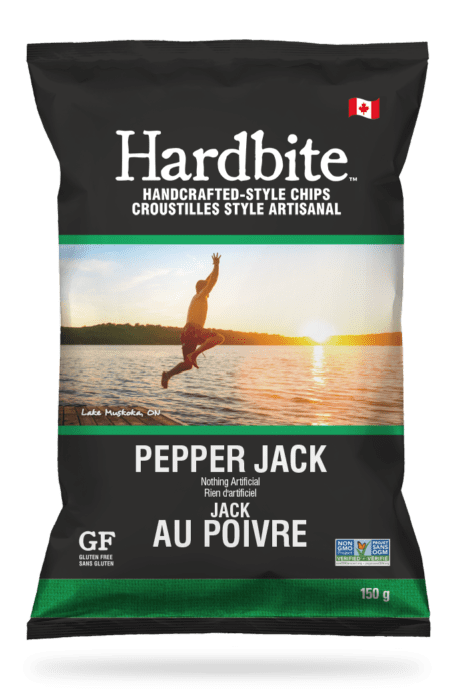 Hardbite - Pepper Jack Chips, 150g