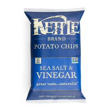 Kettle Foods - Sea Salt & Vinegar Chips - 220g