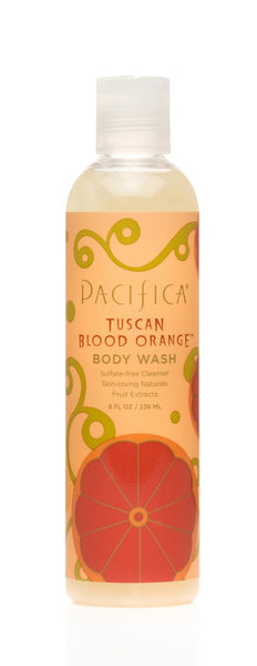 Pacifica - Tuscan Blood Orange Body Wash, 236ml - Goodness Me!