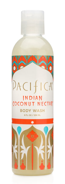 Pacifica - Indian Coconut Nectar BodyWash, 236ml - Goodness Me!