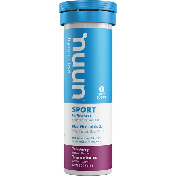 Nuun -  Active Tri Berry, 10 tablets