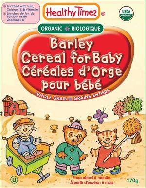 Healthy Times - Organic Barley Baby Cereal, 227g - Goodness Me!