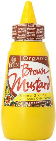 Eden - Org Brown Mustard - 255g