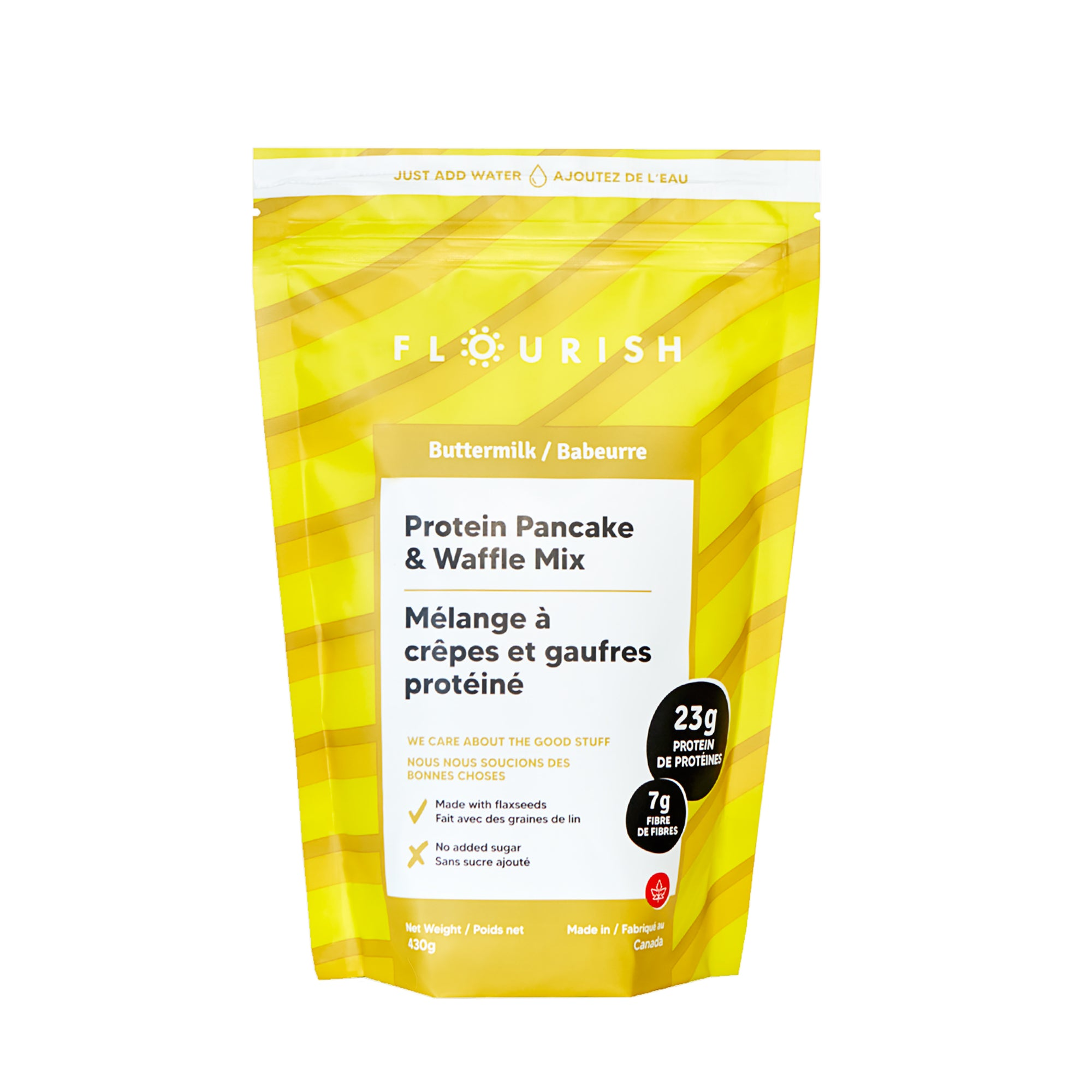 Flourish - Buttermilk Protein Pancake Mix, 430g