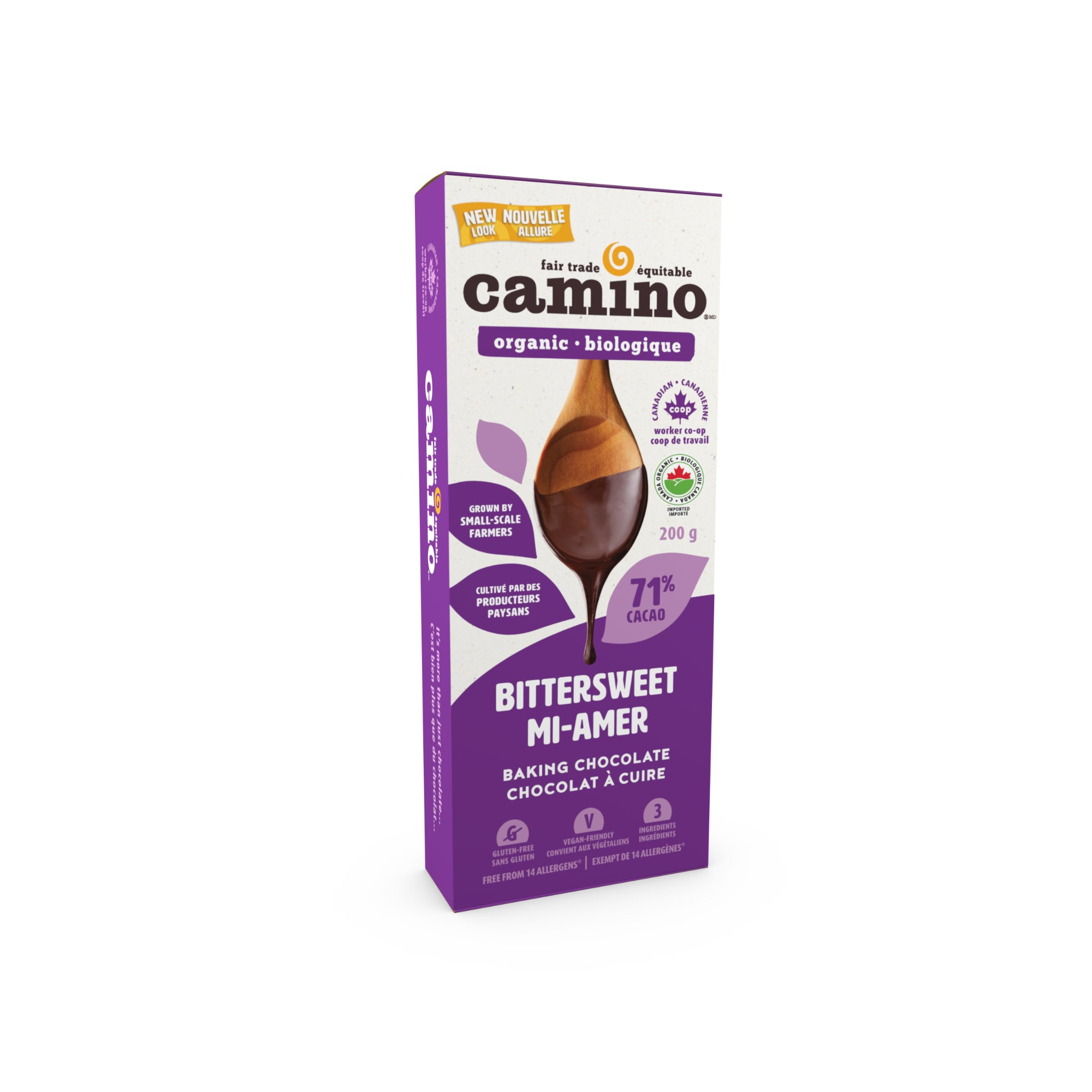 Camino - Baking Chocolate, 71% Bitter Sweet, 200g