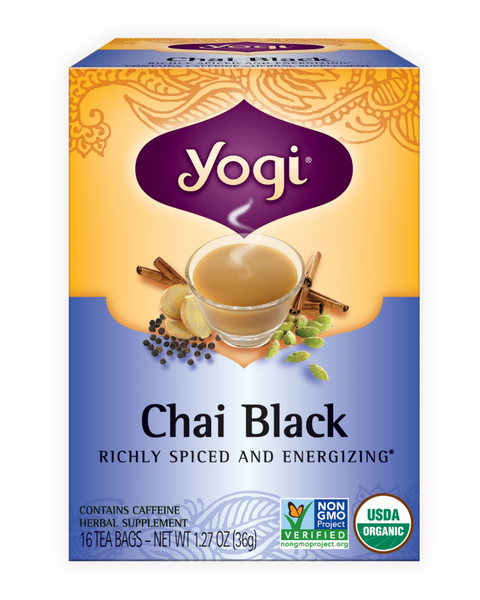 Yogi -  Chai Black Tea, 16ct - Goodness Me! - 1