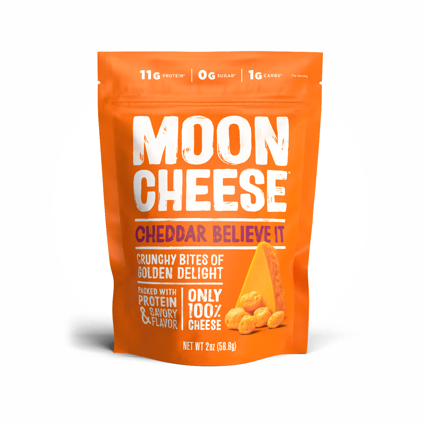 Moon Cheese - Medium Cheddar - 57g