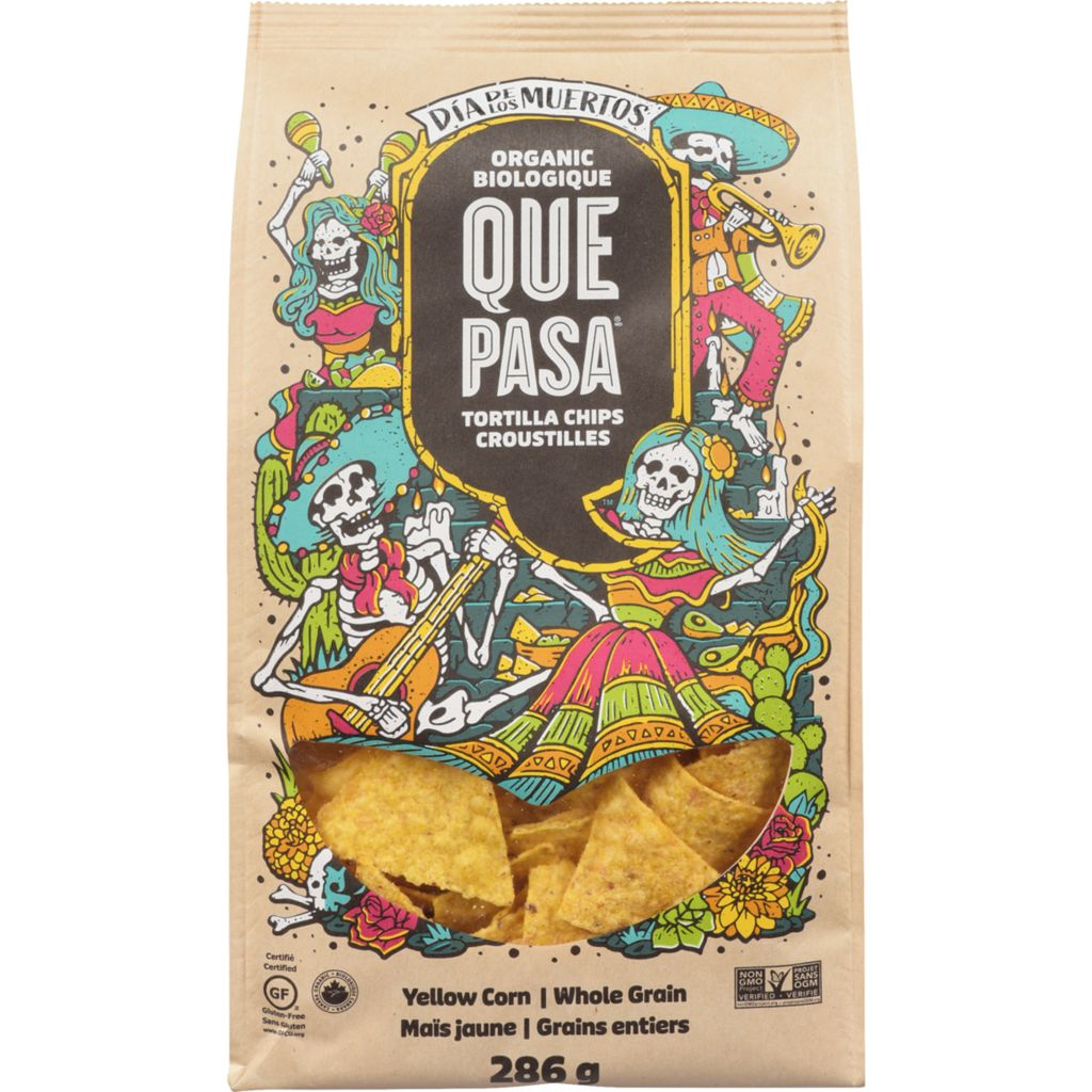 Que Pasa - Tortilla Chips, Day of the Dead, 286g