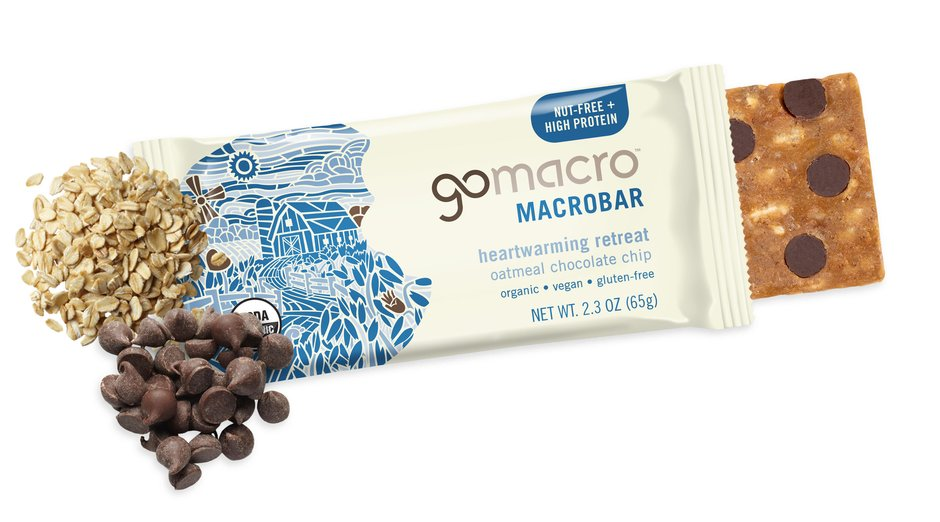 Go Macro Bars - Oatmeal Chocolate Chip, 65g