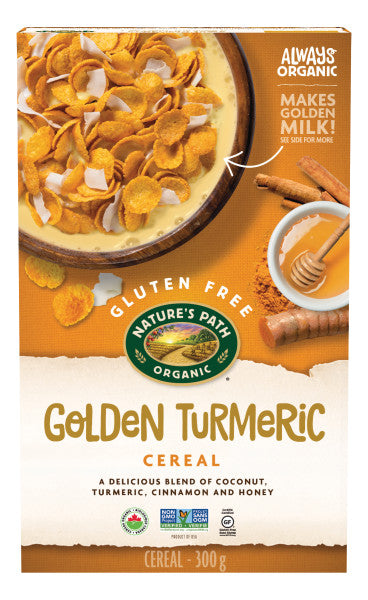 Nature's Path - Organic Golden Turmeric Cereal, 300g