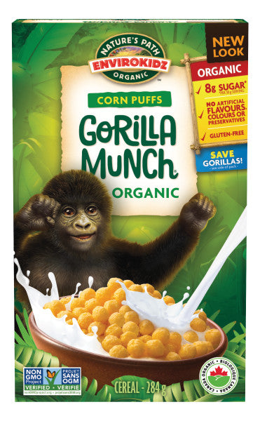 Nature's Path - EnviroKidz Organic Gorilla Munch, 284g