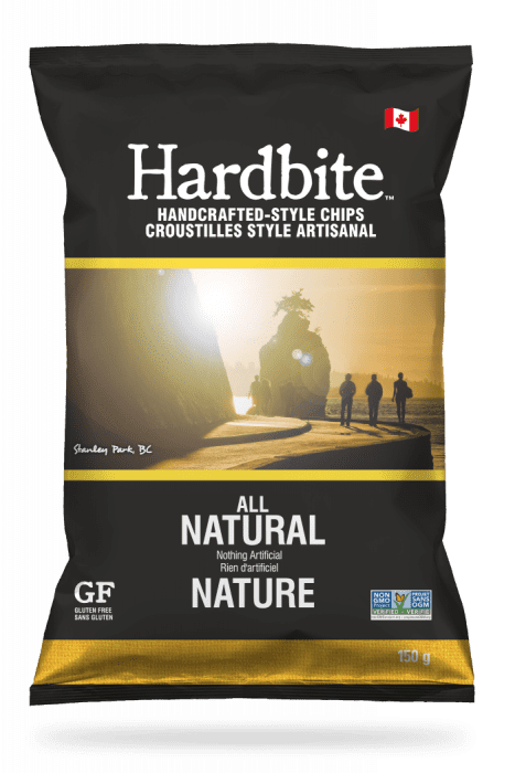 Hardbite - All Natural Chips, 150g