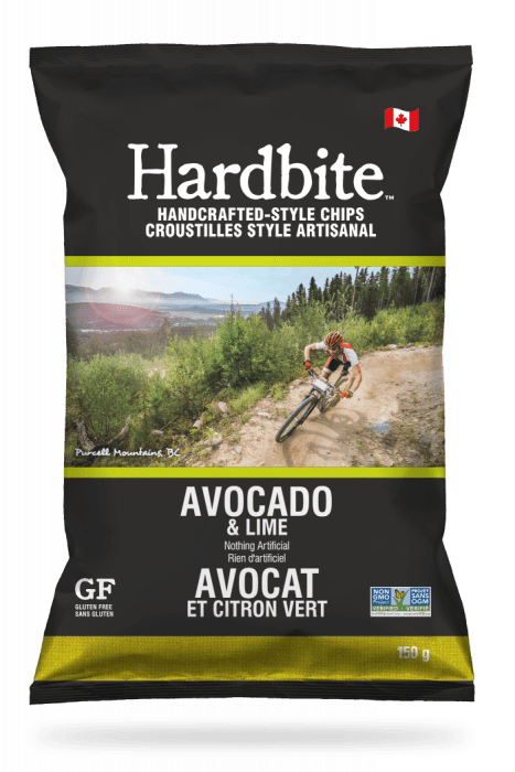 Hardbite - Avocado Lime Chips, 150g