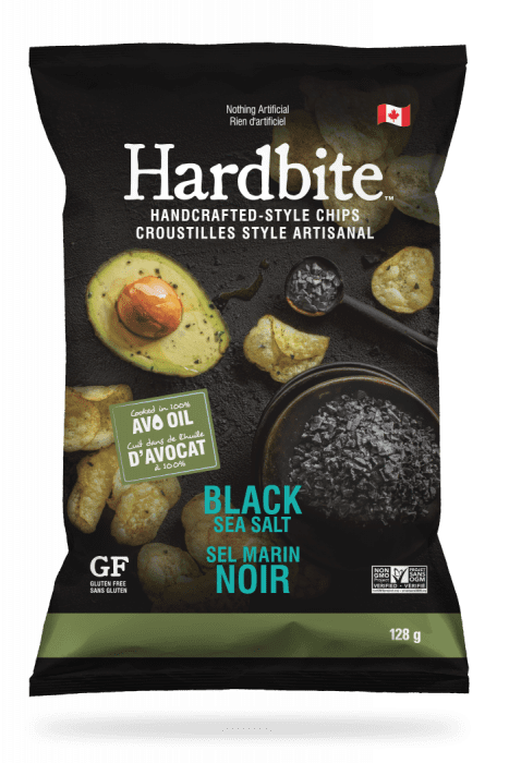 Hardbite - Black Sea Salt, 128g