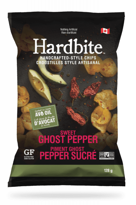 Hardbite - Sweet Ghost Pepper, 128g