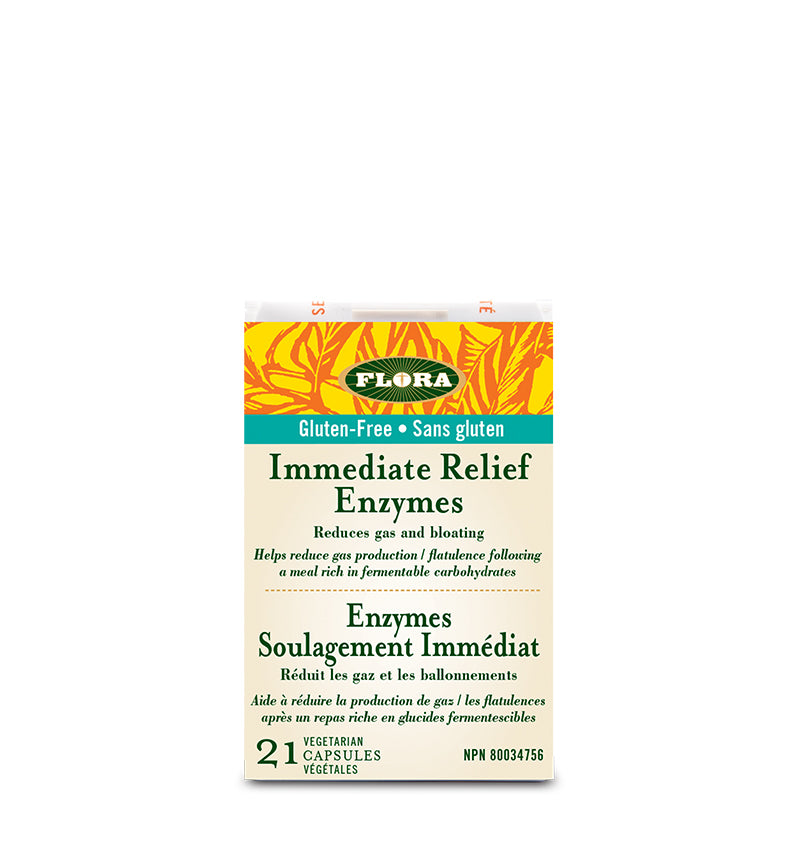 Udo's Choice - Immediate Relief Enzyme, 21 Vcaps