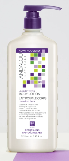 Andalou Naturals - Lavender Thyme Body Lotion, 946ml