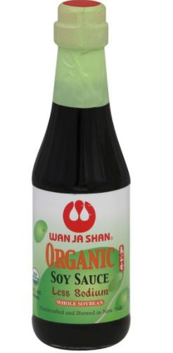 Wan Ja Shan - Organic Low Sodium Soy Sauce, 300mL